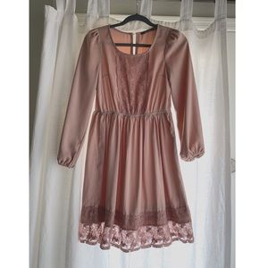 Blush Doe & Rae Dress